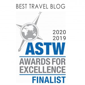 Travel Boating Lifestyle blog - finalist in ASTW Awards for Excellence
