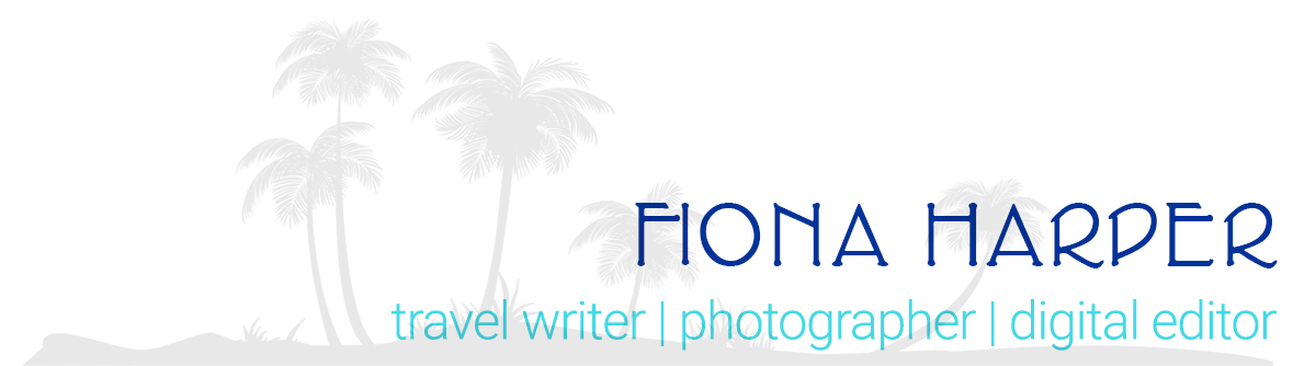 Fiona Harper travel writer, photographer, digital editor